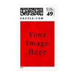 Papel de pergamino rojo del navidad del día de sello