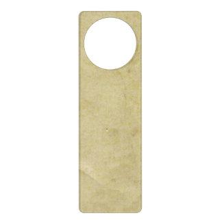 Papel de pergamino viejo colgantes para puertas