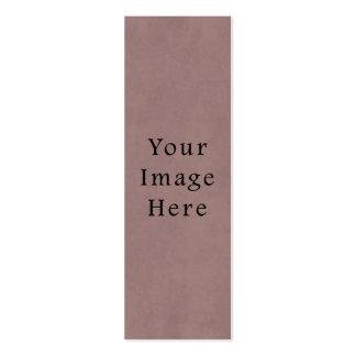 Papel de pergamino viejo de color de malva rosado  tarjetas de visita mini