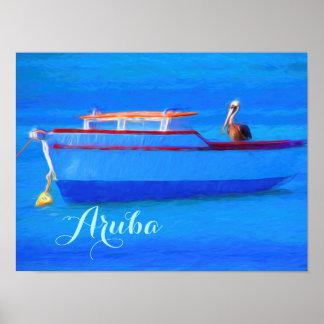 Papel de poster del valor de Aruba (mate) Póster