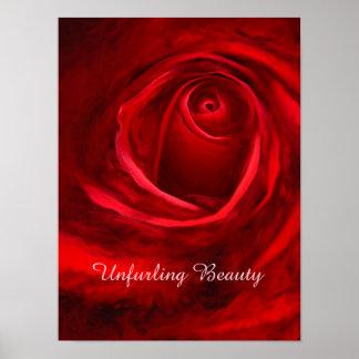 Papel de poster del valor de la belleza que póster