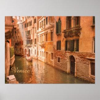 Papel de poster del valor de Venecia (mate) Póster