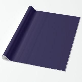 Papel de regalo adaptable (azules marinos)