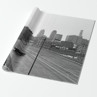 Papel de regalo céntrico de Kansas City