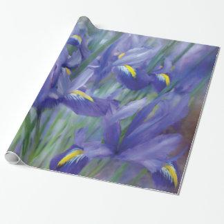 Papel de regalo del arte del ramo del iris