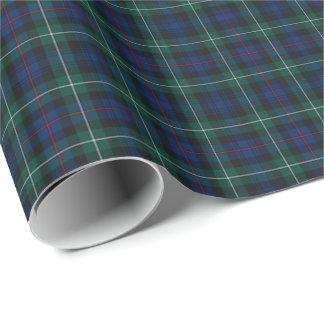 Papel de regalo del tartán de Mackenzie del clan