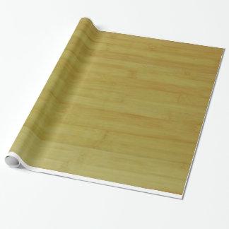 Papel de regalo - tableros de bambú