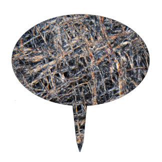 Papel de Washi debajo del microscopio Figuras Para Tartas