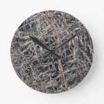 Papel de Washi debajo del microscopio Relojes