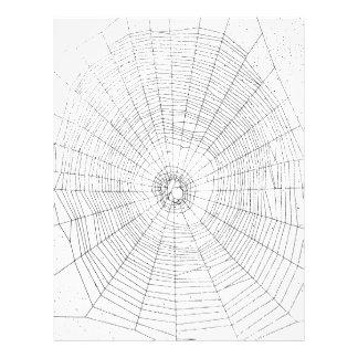 """Papel del arte de Origami, Spiderweb, diversión de Folleto 8.5"""" X 11"""""""