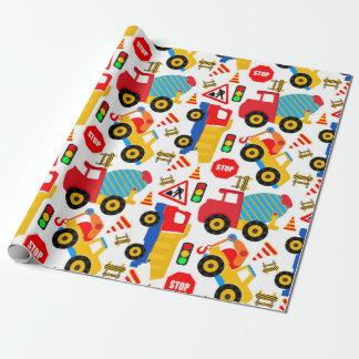 Papel del embalaje mate de los niños de la papel de regalo