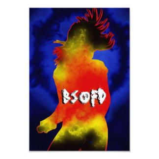Papel del OV del pedazo que dice BSOFD Invitación