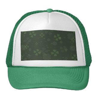 Papel del trébol gorras de camionero