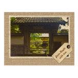 Papel del vintage del templo de Kamakura Japón Ken Tarjeta Postal