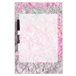 Papel gris rosado moderno del grunge de la tablero blanco