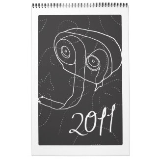 Papel higiénico: 2011 calendarios de pared