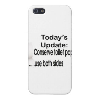 Papel higiénico iPhone 5 cárcasa