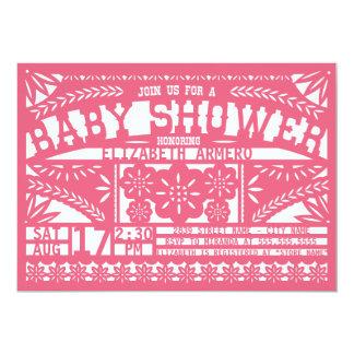Papel Picado Baby Shower Invitation