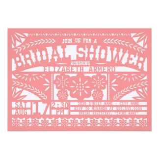 Papel Picado Bridal Shower Invitation