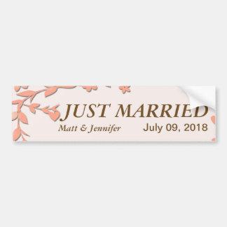 Papel Picado Wedding Invitation - Lovely Doves Bumper Sticker