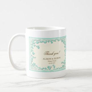 Papel Picado Wedding Invitation - Lovely Doves Coffee Mug