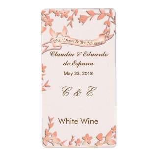 Papel Picado Wedding Invitation - Lovely Doves Label