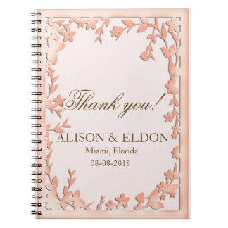 Papel Picado Wedding Invitation - Lovely Doves Notebook