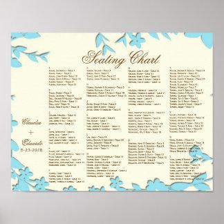 Papel Picado Wedding Invitation - Lovely Doves Poster