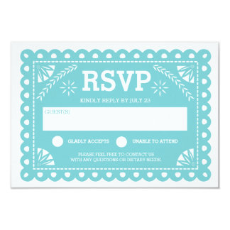 Papel Picado Wedding Rsvp