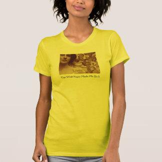 Papel pintado amarillo camisetas