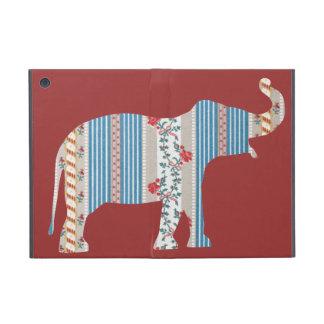 Papel pintado antiguo del modelo del elefante del  iPad mini carcasa