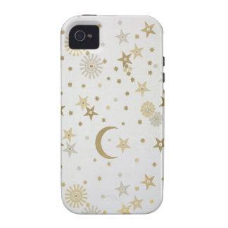 Papel pintado celestial del adorno, fin del siglo  iPhone 4/4S carcasa