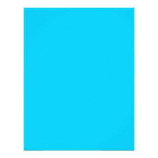 """Papel pintado colorido de la plantilla AZUL del FO Folleto 8.5"""" X 11"""""""