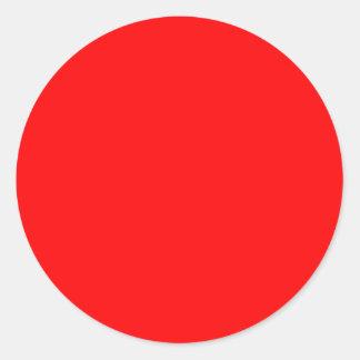 Papel pintado colorido de la plantilla roja del fo etiqueta redonda