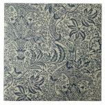 Papel pintado con diseño del estilo de la alga mar teja  ceramica