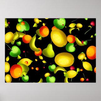 Papel pintado con sabor a fruta impresiones