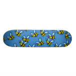 Papel pintado de la abeja patín personalizado