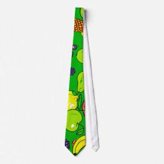 Papel pintado de la fruta corbata