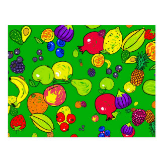 Papel pintado de la fruta postales