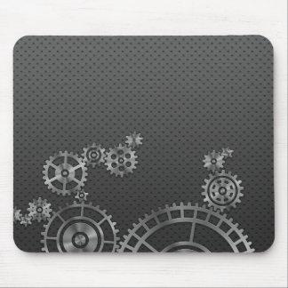 Papel pintado de la rueda de engranaje tapete de raton