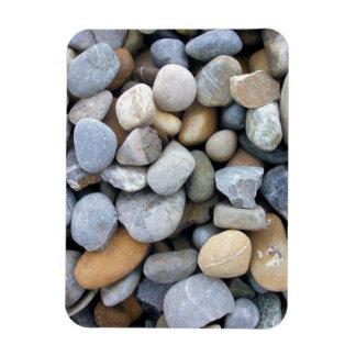 Papel pintado de las piedras iman de vinilo