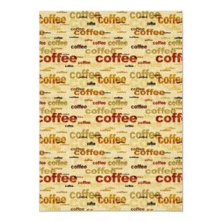 Papel pintado del café anuncio