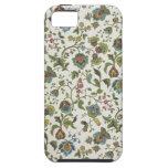 papel pintado del diseño Indio-inspirado, floral,  iPhone 5 Funda