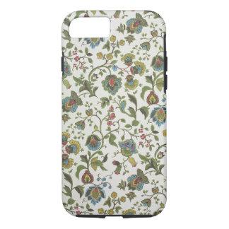 papel pintado del diseño Indio-inspirado, floral, Funda iPhone 7