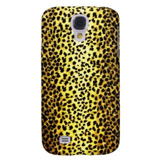 Papel pintado del leopardo funda para galaxy s4