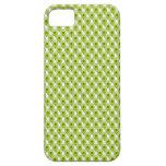 Papel pintado del punto de referencia - verde iPhone 5 Case-Mate coberturas