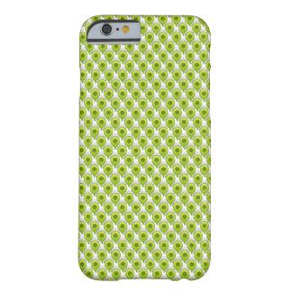 Papel pintado del punto de referencia - verde funda de iPhone 6 barely there