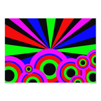 """Papel pintado del RGB Invitación 5"""" X 7"""""""