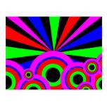 Papel pintado del RGB Postales