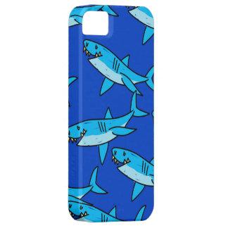 Papel pintado del tiburón iPhone 5 funda
